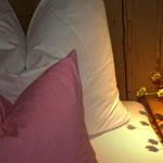 Liebevoll eingerichtete Zimmer in den Vital Chalets