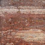 Titulo: Colores de mi tierra I      Técnica: Piedra de mármol pulida.      Medidas: 20 x 20 cm