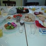 Bei unserem letzten Treffen haben uns die Jungs mit einem reichen Frühstück überrascht!