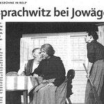 """""""Berner Zeitung"""" vom 13.1.10 (Seite 1/2)"""