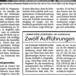 """""""Berner Zeitung"""" vom 13.1.10 (Seite 2/2)"""