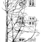 Berlin, Blick aus dem Fenster