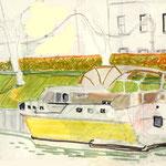Boot am Kanal