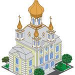 Церковный корпус Петергофа