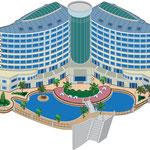 тропический отель