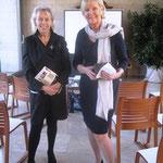Unsere Gastgeberin Elisabeth Bloch-Poulsen im Gespräch mit der Vizepräsidentin  Dr. Ingeborg Becker