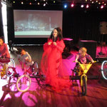 IMAGINE Children's Festival London 2014 - Madame Lark with Peddle Powered Disco