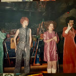 1980s - The Hibiscus Sisters (L to R) with Geri Kelder, Pauline Bell, Joey Constable and Christine Johnston