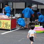 海盛夏祭り
