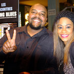 Shawn Holt & Tasha Taylor sur le Stand Feeling Blues.