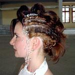 Brautfrisur zum Ronneburger Altstadtfest