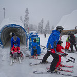Катание на сноубордах и лыжах