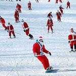 Новогодние катания на Красной Поляне