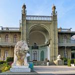 Воронцовский дворец. Южные террасы