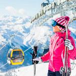 Катания на лыжах