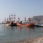 Кораблики в Коктебеле