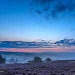 Blue Hour op de Posbank (Canon 5DMKII)