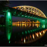 Green Bridge over the Rine 10 september 2014