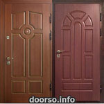 Двери серии МДФ № 19.