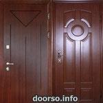 Двери серии МДФ № 3.