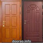 Двери серии МДФ № 18.