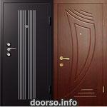 Двери серии МДФ № 12.