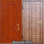 Двери серии МДФ № 11.