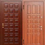 Двери серии МДФ № 21.