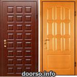 Двери серии МДФ № 4.