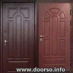 Двери серии МДФ № 20.