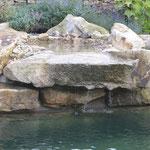 naturnaher Wasserfall