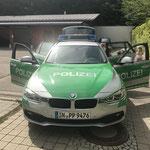Besuch der Polizeistation in Germering