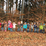 """Wir besuchen den """"Herbstwald"""""""