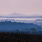 Val d'Orcia - Blick ins Tal