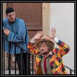 """Dans """"Le Cocu magnifique"""" (été 2018) Théâtre Cie Nihilo Nihil"""