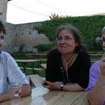 Avec l'immense Michèle Bernard