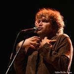 Eric Mie. Barjac m'en chante, Chansons de caractère. Barjac, Gard. Le 2 août 2016. Photo de Chantal Bou-Hanna