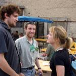 Avec la frangine Agnès Bihl