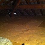 Isolation dalle des combles en laine de bois pour améliorer le confort d'été, 73 Challes les Eaux