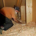 Isolation des combles en copeaux de bois, 38 Grenoble