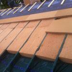 Isolation d'un toit entre freine vapeur et film HPV, 73 Savoie