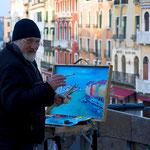 Venedigmaler (Foto: Hans Werner Lehner)