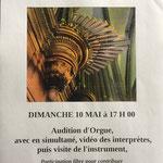 L'Association des Amis de l'Orgue de Notre Dame de villedieu les Poêles a participé à la journée nationale 2015 de l'Orgue.