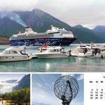 Auszug aus dem Kreuzfahrtkalender 2012