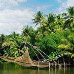 Chinesische Fischernetze - Kerala - Indien