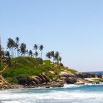 Küste bei Kovalam - Indien