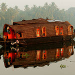 Hausboot in den Backwaters - Kerala - Indien