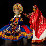 Kathakali-Aufführung - Kerala - Indien