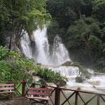 Thailand, Wasserfall bei Chiang Mai