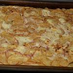 Fertig gebacken bei 250 Grad Ober/Unterhitze (vorheizen)